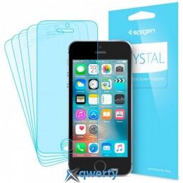 Spigen Screen Protector Crystal (5 pcs of front) for iPhone SE/5/5S (SGP-041FL20165)