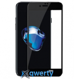 XO FD1 3D Curved Surface Full Screen Tempered Glass 0,26 mm Black for iPhone 7 Plus
