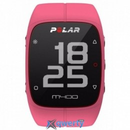 Polar M400 HR + GPS for Android/iOS Pink (90057194)
