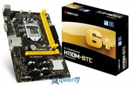 Biostar H110M-BTC (s1151, INTEL H110, PCI-Ex16) купить в Одессе