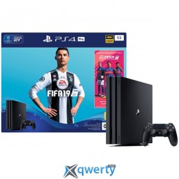 Sony PlayStation 4 Pro 1TB (PS4) + Fifa 19