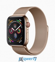 Apple Watch Series 4 GPS + LTE (MTVQ2) 40mm Gold Stainless Steel Case with Gold Milanese Loop