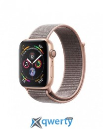 Apple Watch Series 4 GPS (MU692) 40mm Gold Aluminum Case with Pink Sand Sport Band Loop