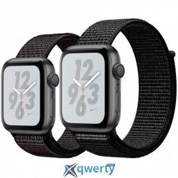 Apple Watch Nike+ Series 4 GPS (MU7G2) 40mm Space Gray Aluminum Case with Black Nike Sport Loop