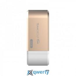 USB3.0 32GB OTG Lightning Team MoStash WG02 Gold (TWG02BGD01)