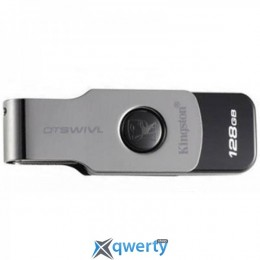 USB3.1 128GB Kingston DataTraveler Swivl Black (DTSWIVL/128GB)