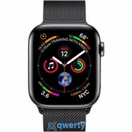 Apple Watch Series 4 GPS + LTE (MTV62) 44mm Space Black Stainless Steel Case with Space Black Milanese Loop