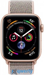Apple Watch Series 4 GPS (MU6G2) 44mm Gold Aluminum Case with Pink Sand Sport Band Loop
