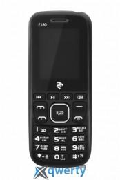 2E E180 Dual Sim Black-Blue