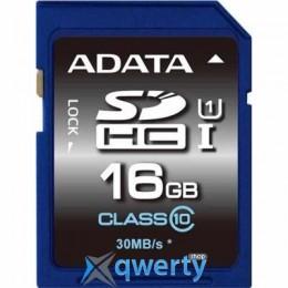 ADATA 16GB SDHC class 10 UHS-1 (ASDH16GUICL10-R)