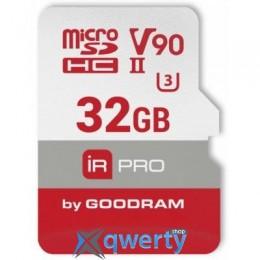 GOODRAM 32GB microSDHC UHS II V90 U3 IRDM PRO (IRP-M9BA-0320R11)
