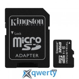 Kingston 32GB microSD class 10 UHS-I Industrial (SDCIT/32GB)