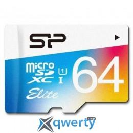 Silicon Power 64GB microSDXC class 10 UHS-I (SP064GBSTXBU1V20)