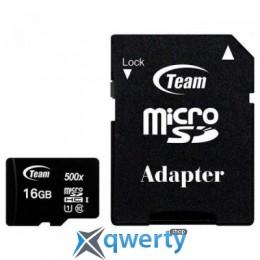 Team 16GB microSD class 10 UHS-I (TUSDH16GCL10U03)