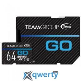 Team 64GB microSD Class 10 UHS-I/U3 Go (TGUSDX64GU303)