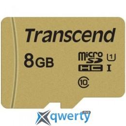 Transcend 8GB microSDHC class 10 UHS-I U1 (TS8GUSD500S)