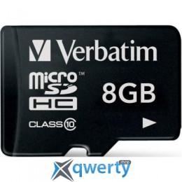 Verbatim 8GB microSDHC class 10 (44012)