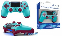 Беспроводной джойстик PlayStation Dualshock V2 Bluetooth PS4 Berry Blue