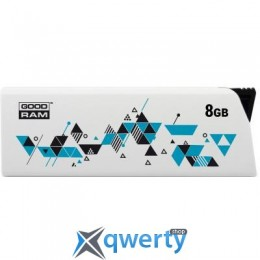 GOODRAM 8GB Cl!ck White USB 2.0 (UCL2-0080W0R11)