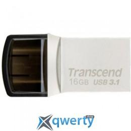 Transcend 16GB JetFlash 890S Silver USB 3.1 (TS16GJF890S)
