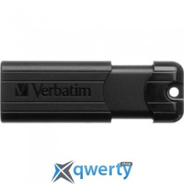 Verbatim 64GB PinStripe Black USB 3.0 (49318)