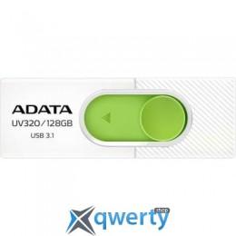 ADATA 128GB UV320 White/Green USB 3.1 (AUV320-128G-RWHGN)