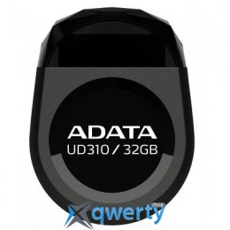 ADATA 32GB DashDrive Durable UD310 Black USB 2.0 (AUD310-32G-RBK)
