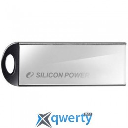 Silicon Power 16GB Touch 830 Silver USB 2.0 (SP016GBUF2830V3S)