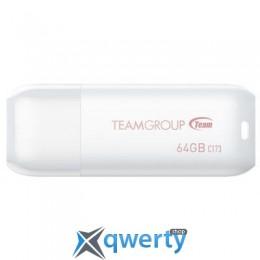 Team 64GB C173 Pearl White USB 2.0 (TC17364GW01)