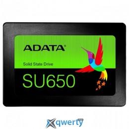 ADATA Ultimate SU650 120GB SATA III 3D NAND TLC (ASU650SS-120GT-R)  2.5