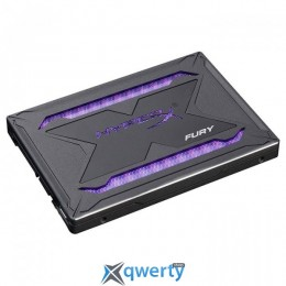 Kingston SSD HyperX Fury RGB 480GB SATAIII TLC (SHFR200/480G) 2,5