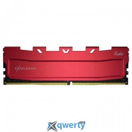 EXCELERAM Kudos Red DDR4 3466MHz 8GB (EKRED4083418A)