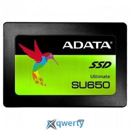 ADATA Ultimate SU650 240GB SATA III 3D NAND TLC (ASU650SS-240GT-R) 2.5