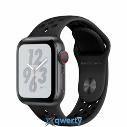 Apple Watch Nike+ Series 4 GPS + LTE (MTXG2) 40mm Space Gray Aluminum Case with Anthracite/Black Nike Sport Band