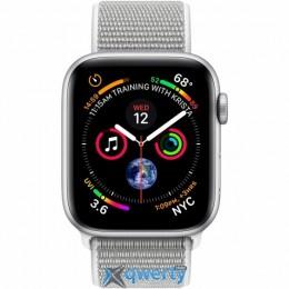 Apple Watch Series 4 GPS + LTE (MTVT2/ MTVV2) 44mm Silver Aluminium Case with Seashell Sport Loop