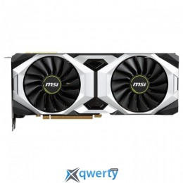 MSI PCI-Ex GeForce RTX 2080 Ti Ventus 11GB GDDR6 (352bit) (1350/14000) (USB Type-C, HDMI, 3 x DisplayPort) (GeForce RTX 2080 Ti Ventus 11G)