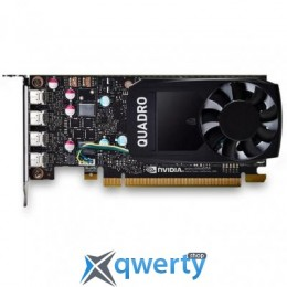 PNY PCI-Ex NVIDIA Quadro P620 2GB GDDR5 (128bit) (1354/4012) (4 x miniDisplayPort) (VCQP620-PB)