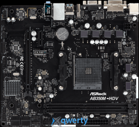 ASROCK AB350M-HDV R3.0 (AM4 AMD B350 PCI)