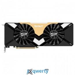 Palit PCI-Ex GeForce RTX 2080 Ti Dual 11GB GDDR6 (352bit) (1350/14000) (1 x HDMI, 3 x DisplayPort, 1 x USB Type-C) (NE6208T020LC-150A)