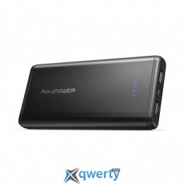 RAVPower 20000mAh Dual iSmart 2.0 Power Bank (RP-PB006BK)
