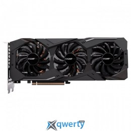 Gigabyte WindForce 3X PCI-Ex GeForce RTX 2080 8GB GDDR6 (256bit) (1710/14000) (Type-C, HDMI, 3 x DisplayPort) (GV-N2080WF3-8GC)