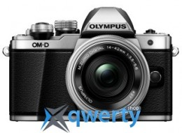 Olympus E-M10 mark II Pancake Zoom 14-42 Kit silver/silver(V207052SE000)