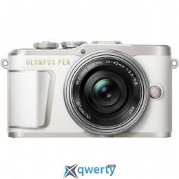 Olympus E-PL9 14-42 mm Pancake Zoom Kit White/Silver(V205092WE000)