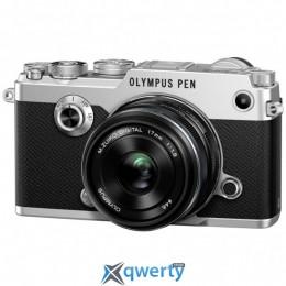 Olympus PEN-F 17mm 1:1.8 Kit Silver/Black(V204063SE000)