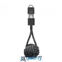 Native Union Key Cable Lightning Cosmos Black (KEY-KV-L-CS-BLK)