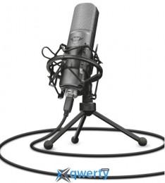 Для потоковых трансляций Trust GXT 242 Lance Streaming Microphone (22614)