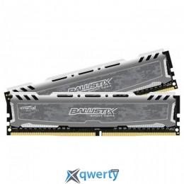 CRUCIAL Ballistix Sport LT Gray DDR4 2666MHz 32GB (2x8) XMP (BLS2C16G4D26BFSB)