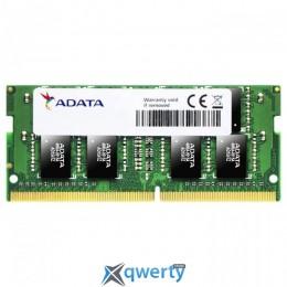 ADATA SODIMM DDR4-2666 4096MB PC4-21300 Premier (AD4S2666J4G19-S)