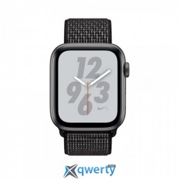 Apple Watch Nike+ Series 4 GPS (MU7J2) 44mm Space Gray Aluminum Case with Black Nike Sport Loop
