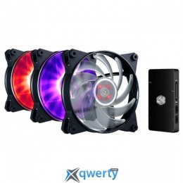 Cooler Master MasterFan Pro 120 Air Balance RGB 3 in 1 With RGB LED Controller (MFY-B2DC-133PC-R1)